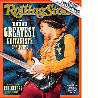 100 Greatest guitarrists