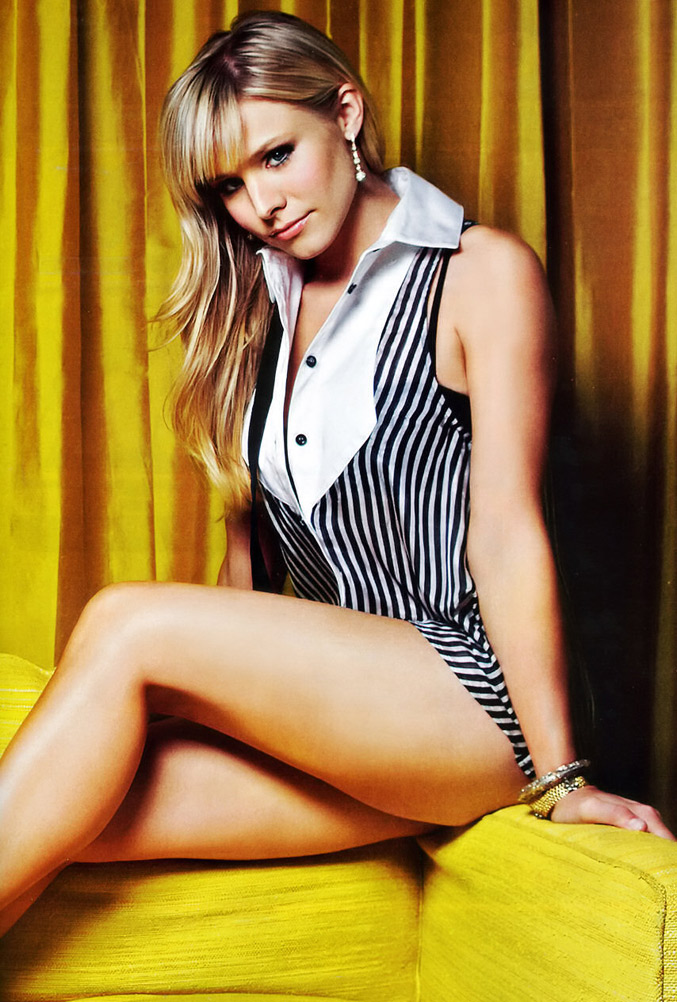 Kristen Bell FHM sexy