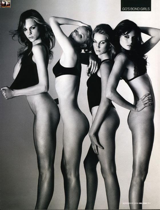 GQ Bond girls
