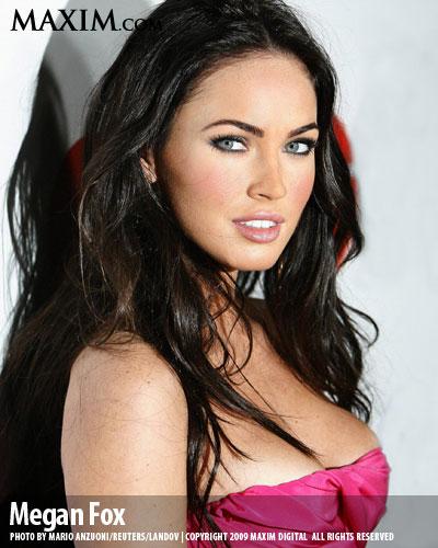 Megan Fox Maxim top 100