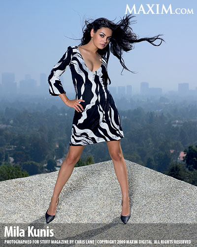 Mila Kunis Maxim top 100