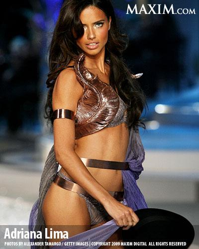 Adriana Lima Maxim top 100