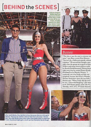Emily Deschanel WonderWoman
