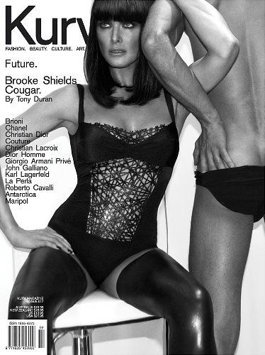 Brooke Shields Kurv magazine