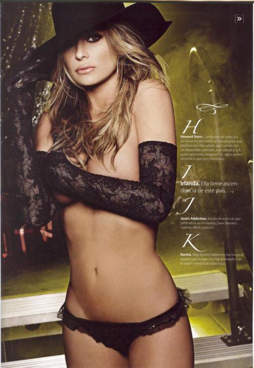 Carmen Electra desnuda Maxim