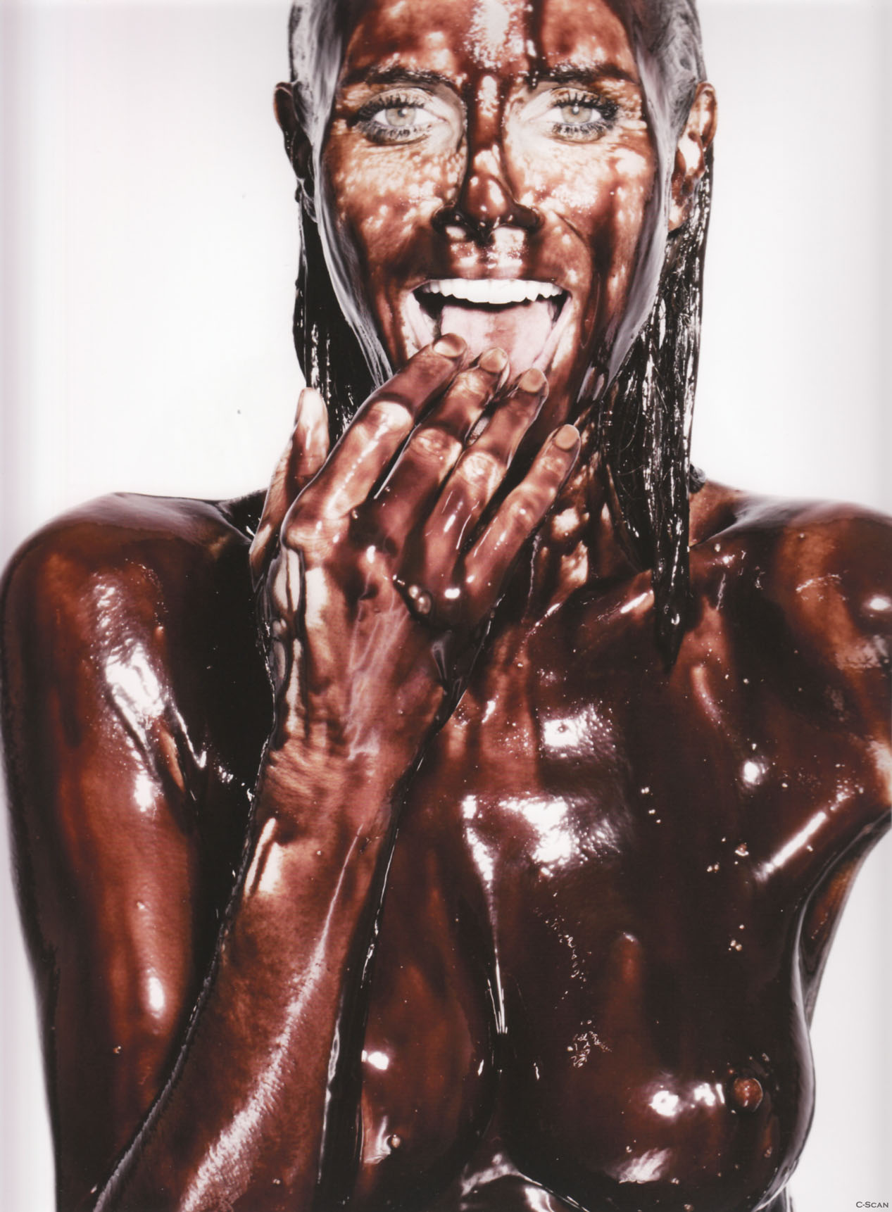 Heidi Klum chocolate