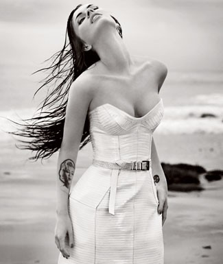 Megan Fox revista Elle
