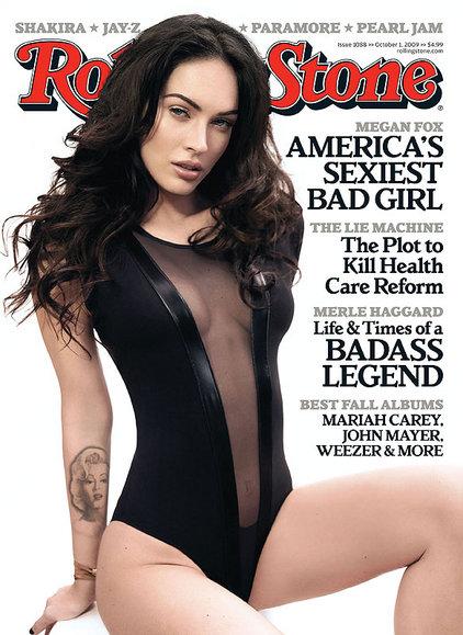 Megan Fox RollingStone