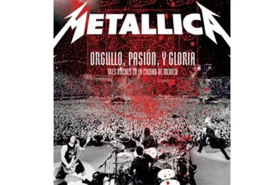 Metallica DVD en Mexico