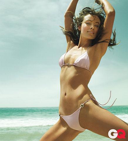 Olivia Wilde sexy GQ