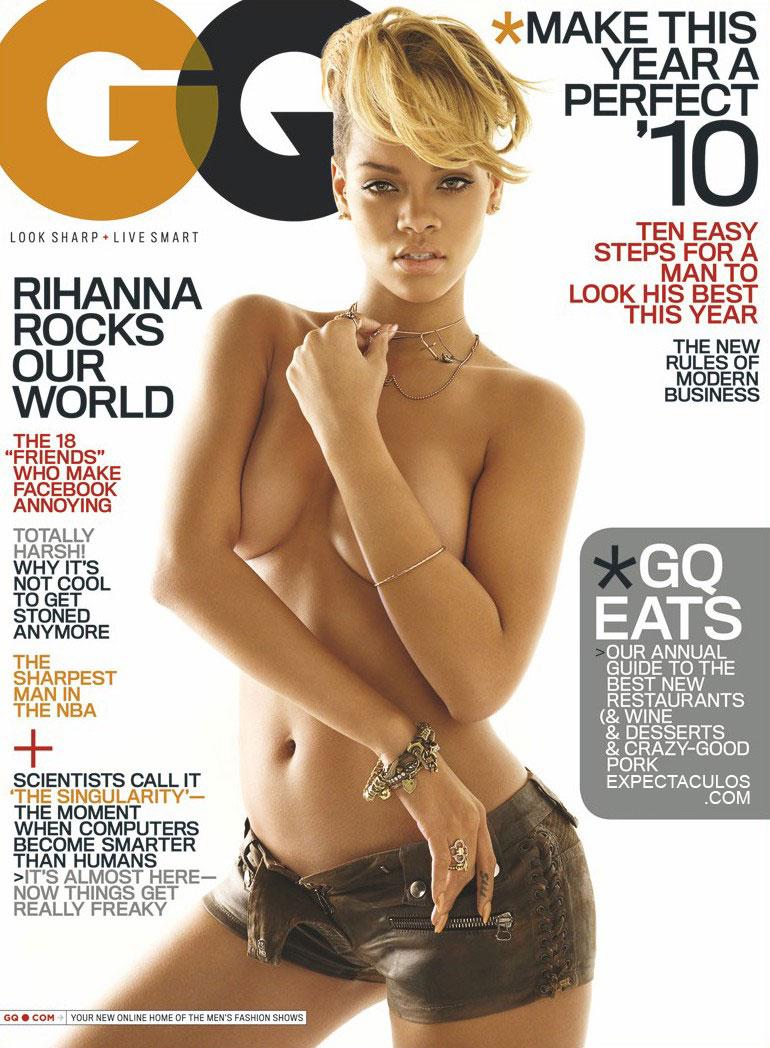 Rihanna revista GQ