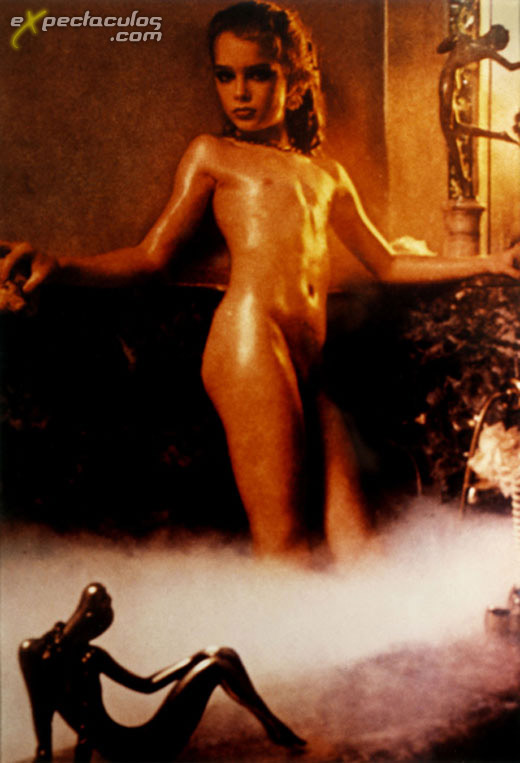 Brooke Shields nude at 10