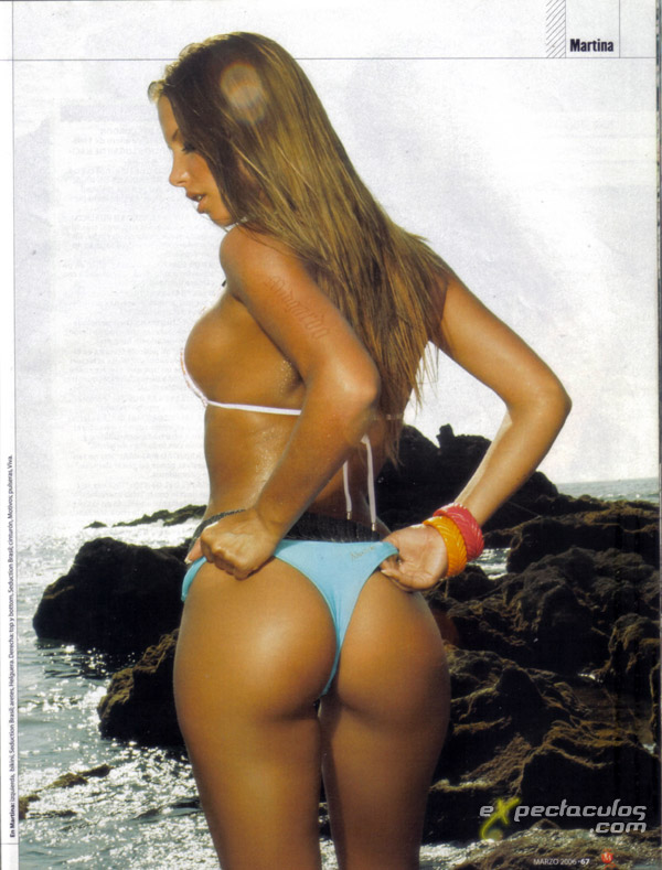 Martina Franz bikini MAXIM