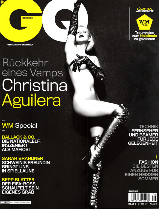 Christina Aguilera revista GQ