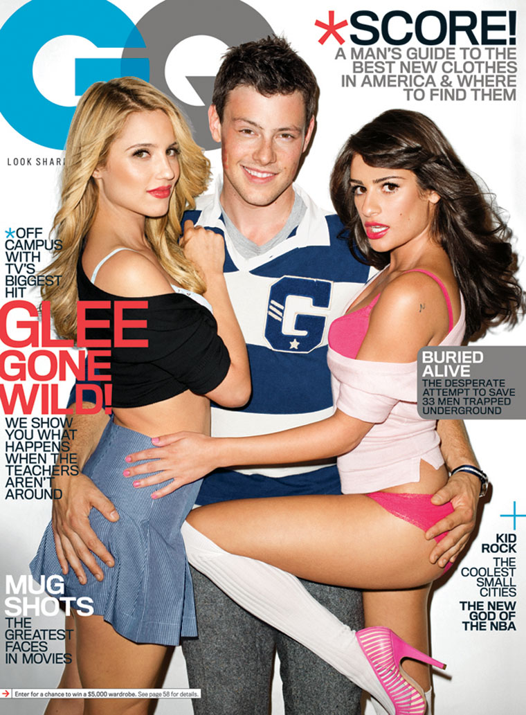 Glee revista GQ