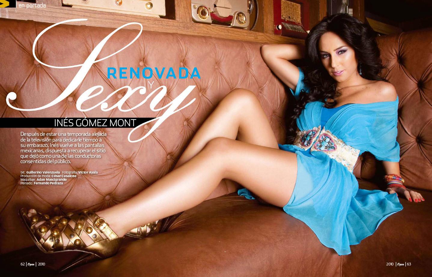Ines Gomez Mont revista Open