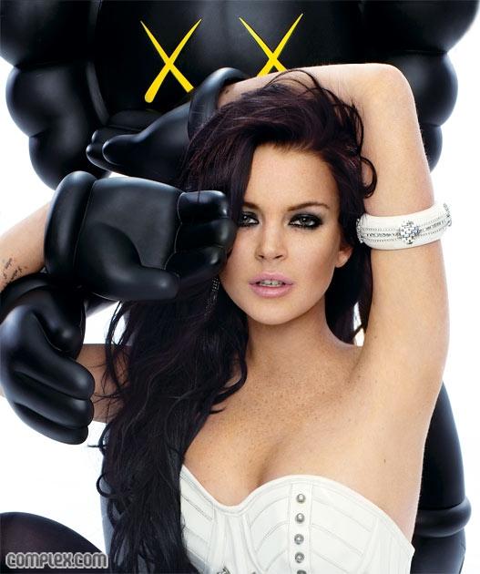 Lindsay Lohan revista Complex