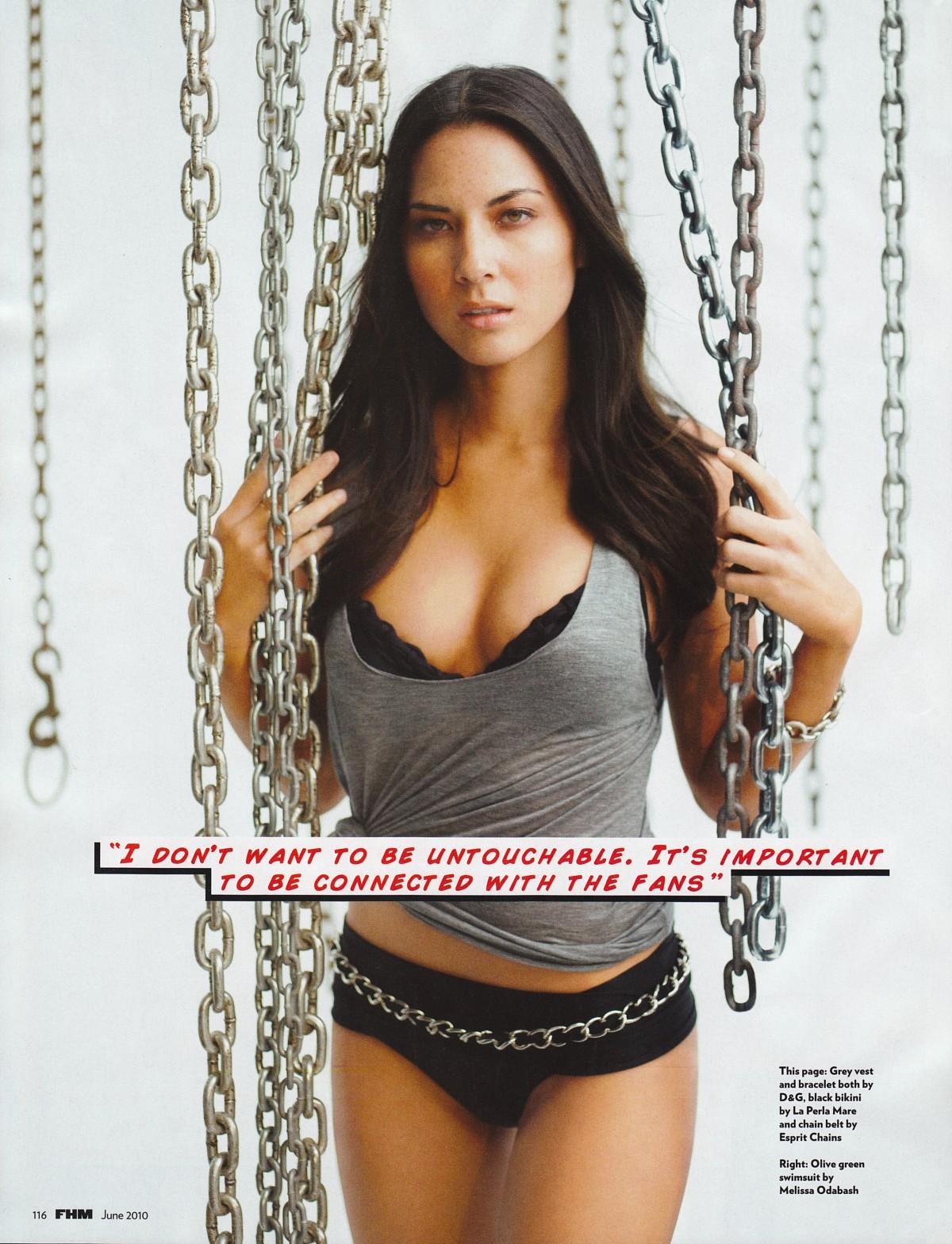 Olivia Munn revista FHM