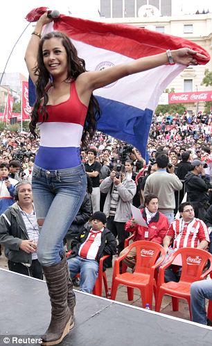 Larissa Riquelme Fan paraguay