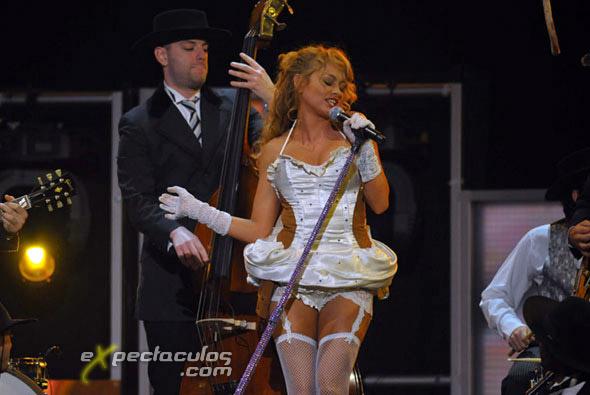 Paulina Rubio Premios Lo Nuestro
