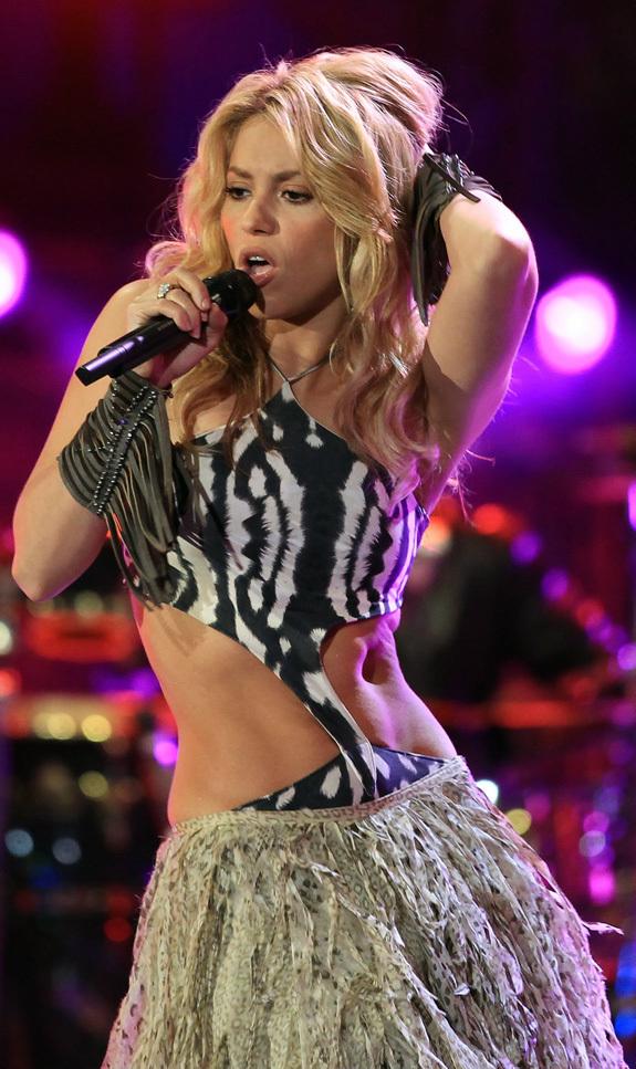 Shakira Hole Hoyo