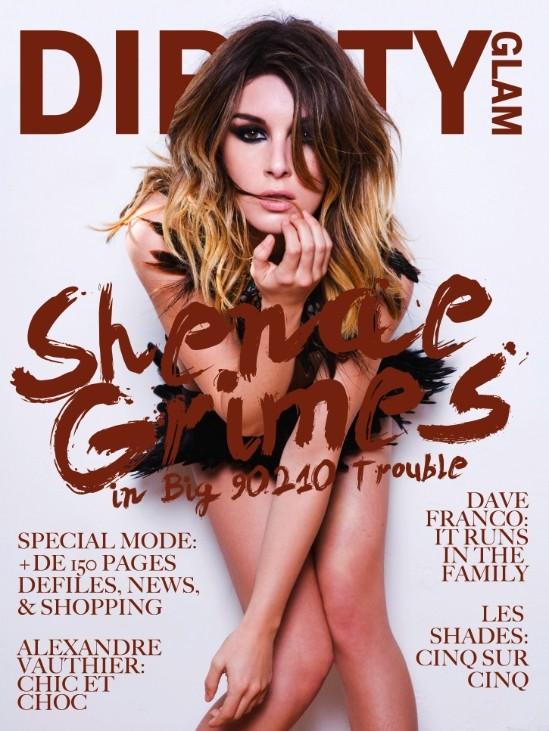 Shenae Grimes revista Dirrty glam