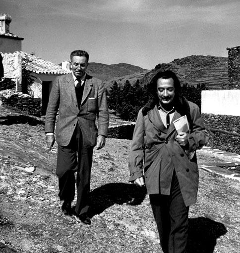 Walt Disney y Salvador Dali