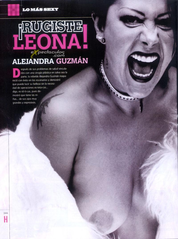 Alejandra Guzman Topless H