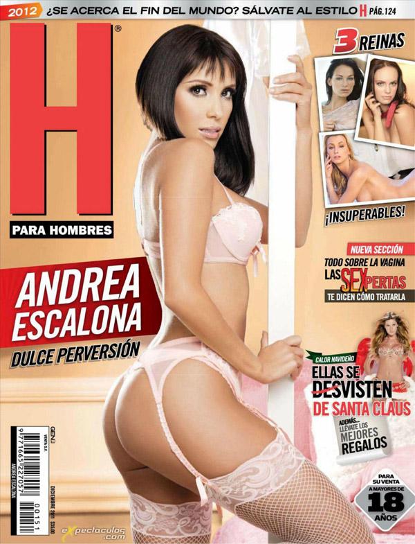 Andrea Escalona revista H