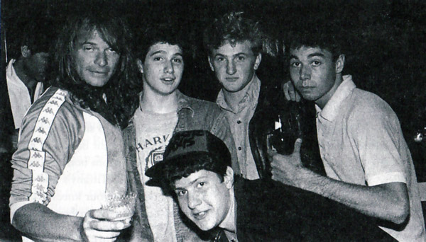 David Lee Rothe The Beastie Boys Sean Penn