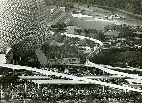 Epcot Center Opening day