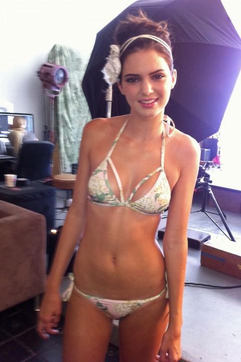 Kendall Jenner Bikini session