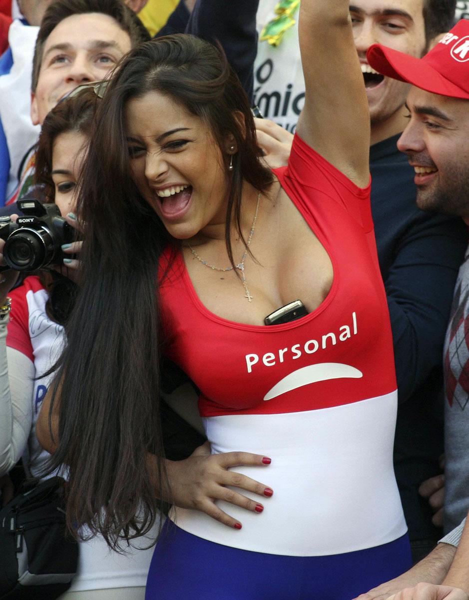 Larissa Riquelme Copa America 2011