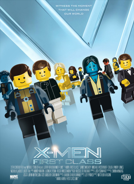 Movie Posters with Lego
