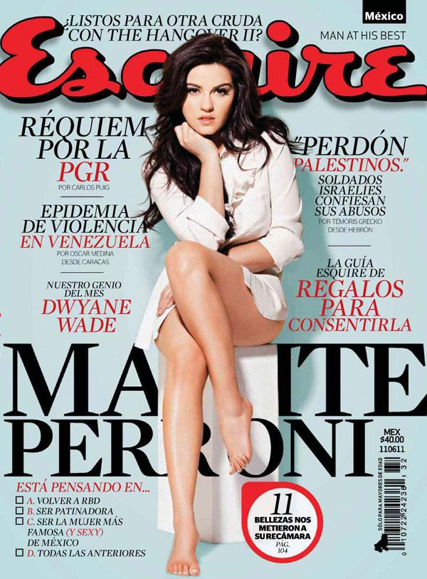Maite Perroni revista Esquire