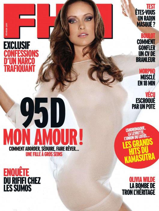 Olivia Wilde FHM France February 2011