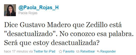 Paola Rojas Twitter