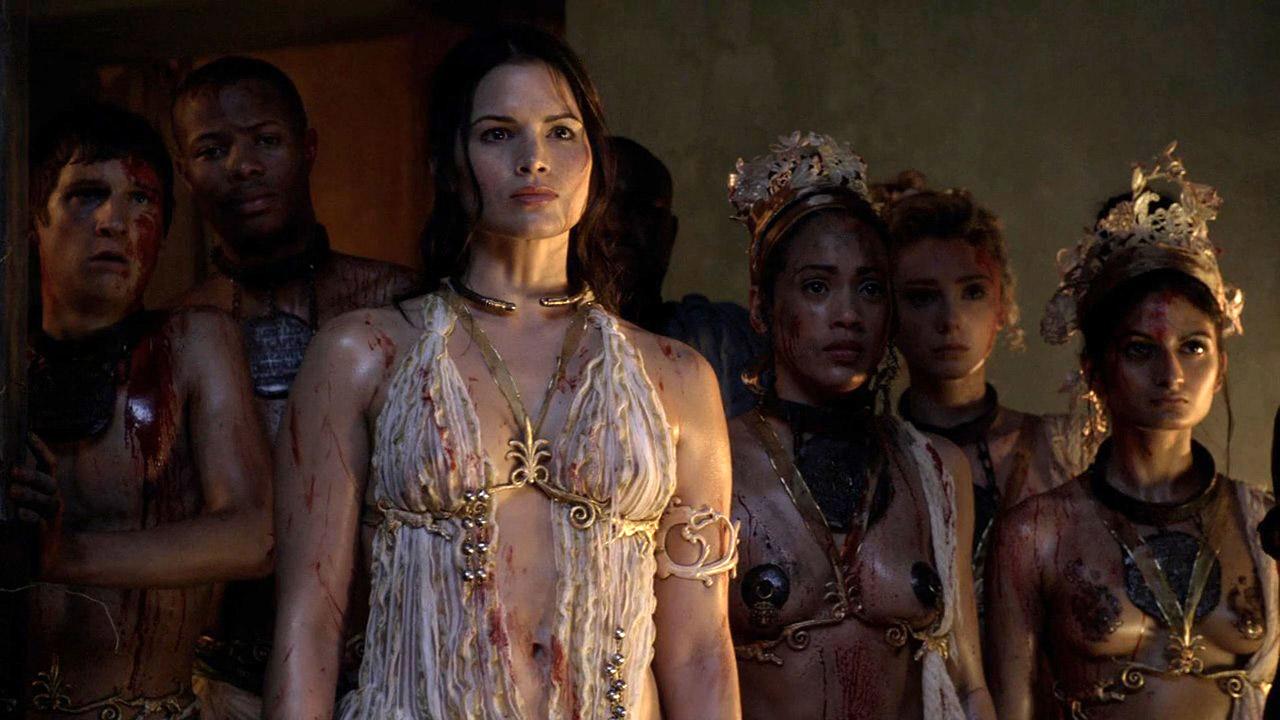 Las Mujeres Desnudas De La Serie Spartacus