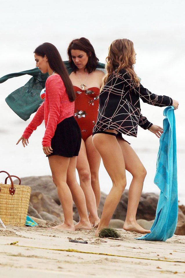 Annalynne McCord Jessica Stroup y Jessica Lowndes
