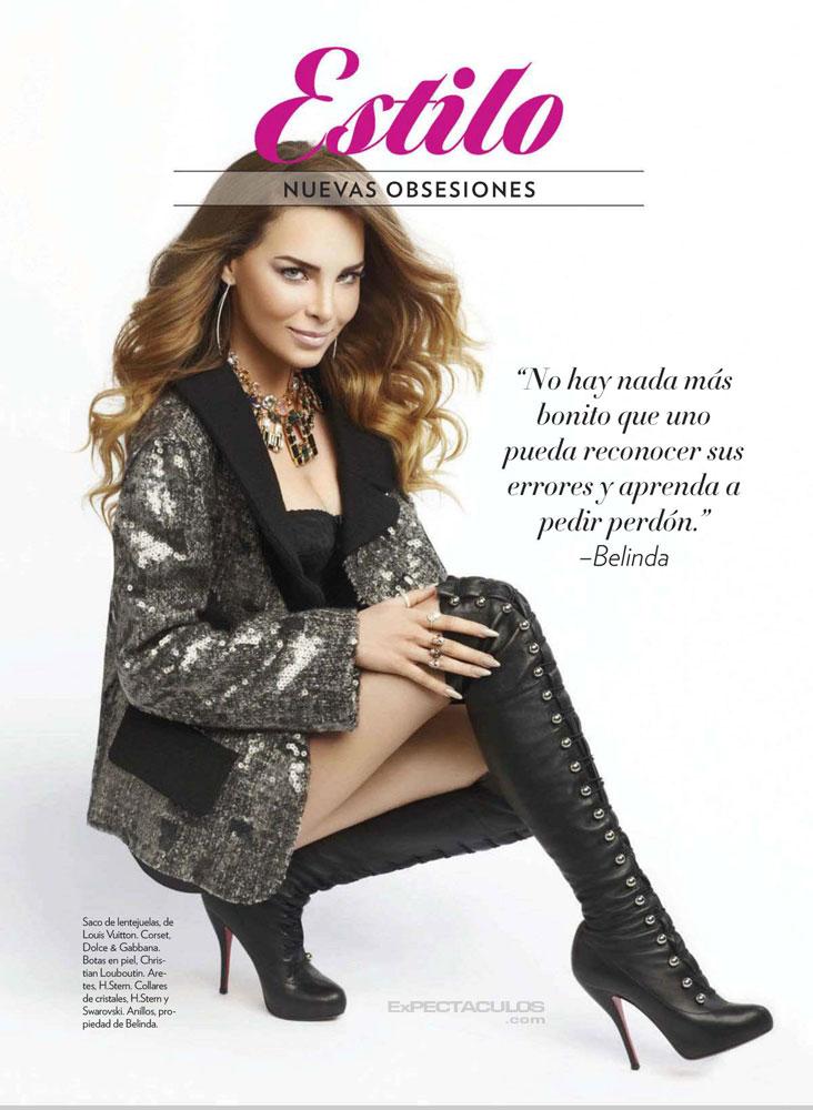 Belinda revista Glamour
