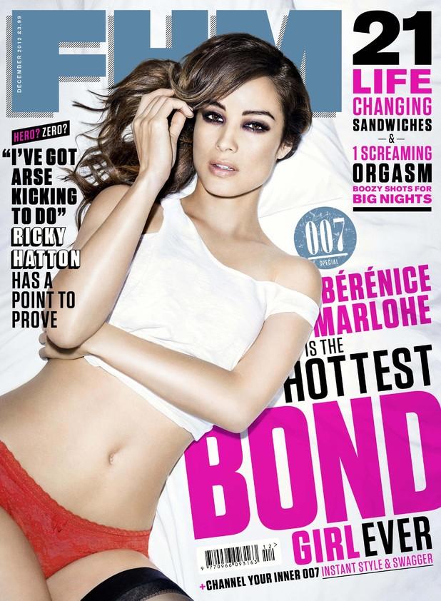 Bérénice Marlohe La Chica Bond En La Revista Fhm Musica Cine Y