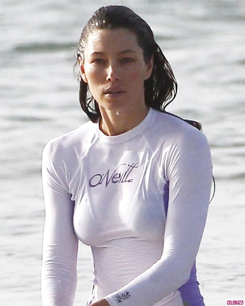 Jessica Biel en bikini en Puerto Rico