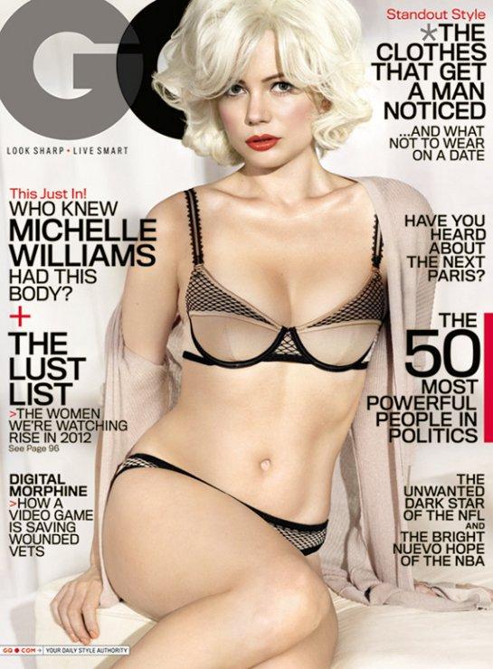 Michelle Williams GQ 2012