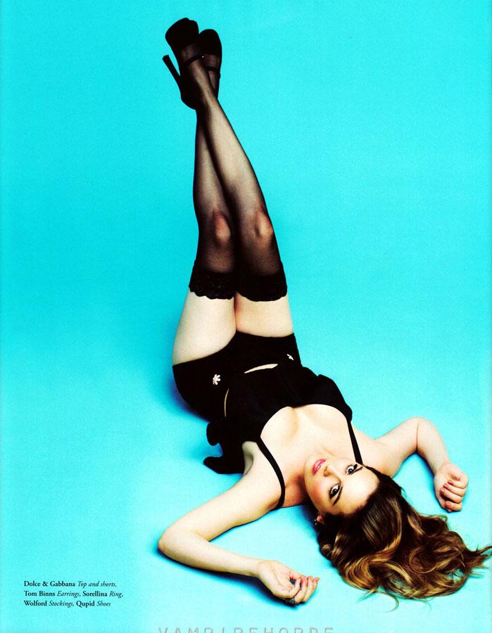 Alicia Silverstone revista Bullet