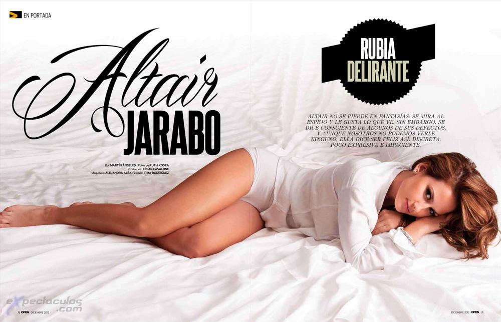 Altair Jarabo revista Open