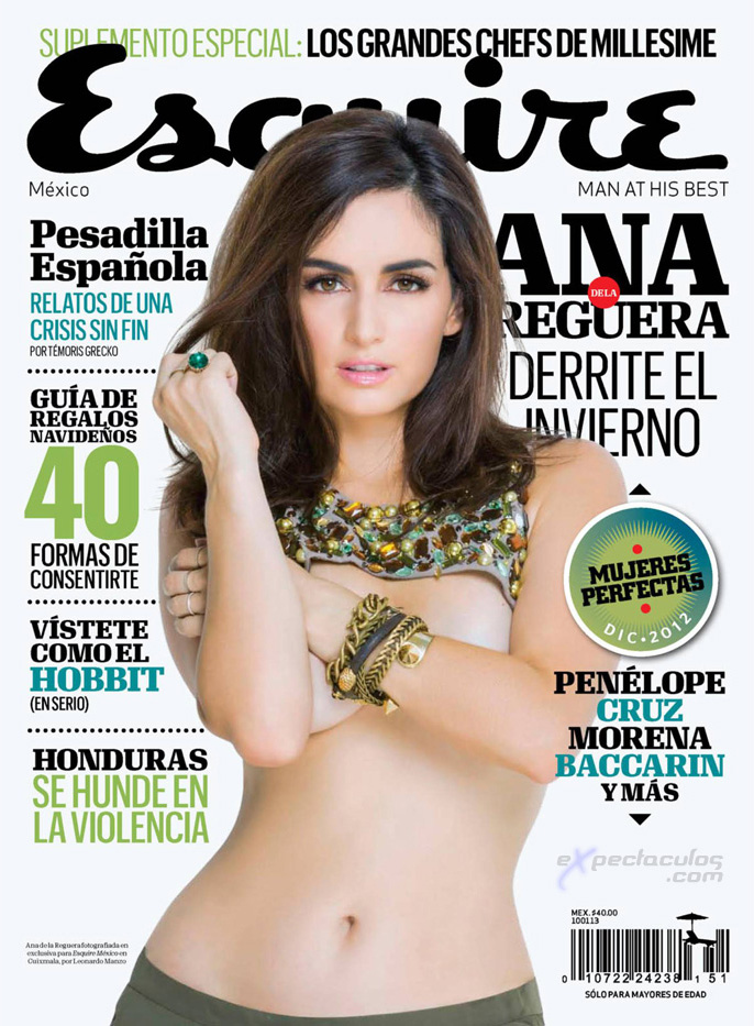 Ana de la Reguera Esquire Mexico