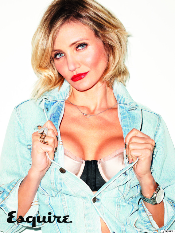 Cameron Diaz revista Esquire