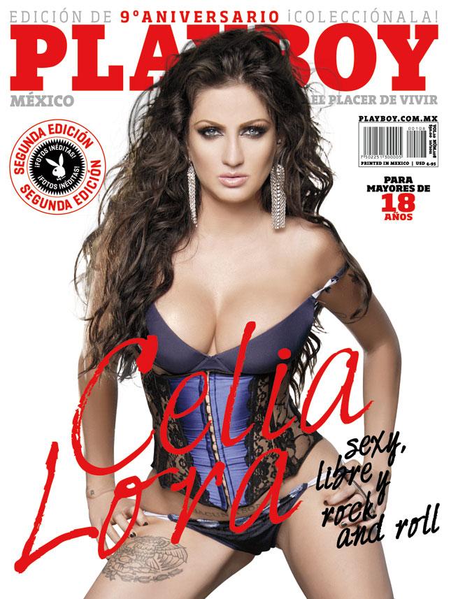 Celia Lora de nuevo en Playboy