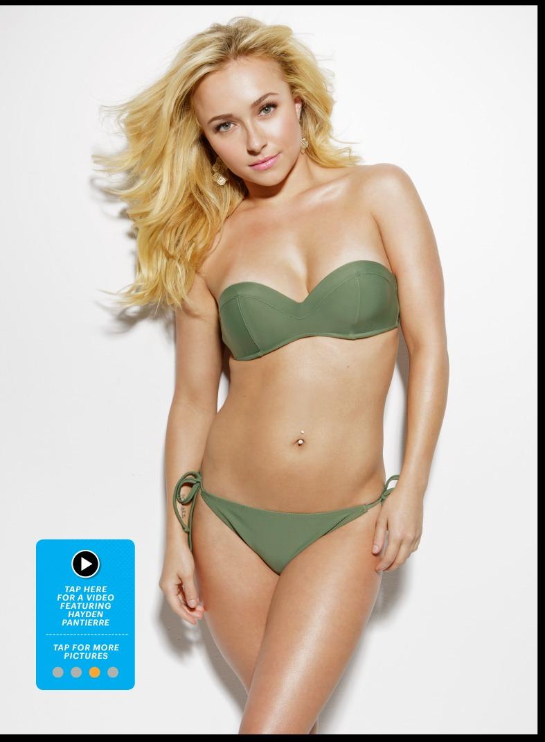 Hayden Panettiere bikini Esquire