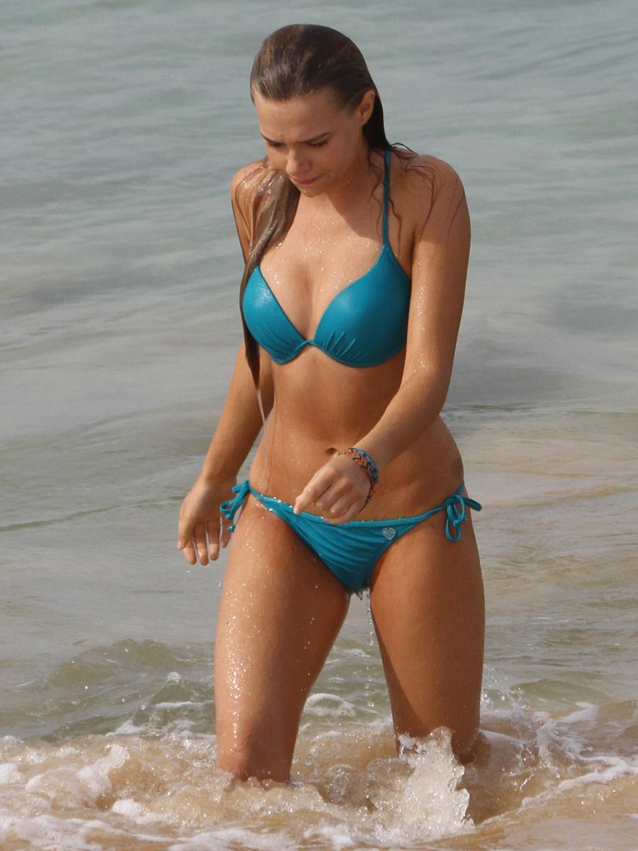 Indiana Evans Bikini Blue Lagoon